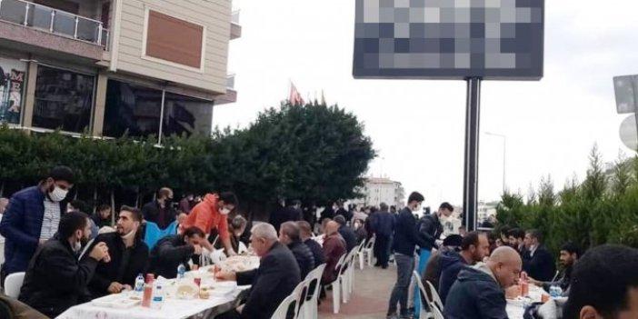 Tepki çeken görüntüler. Alanya'da onlarca kişinin katıldığı mevlide kaymakamlıktan inceleme