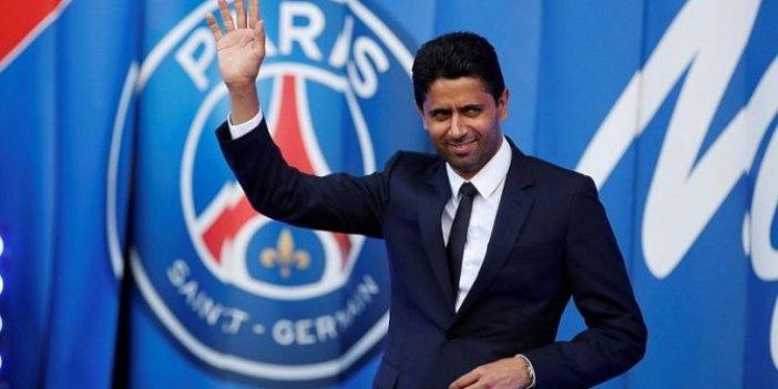 PSG Başkanı Al-Khelaifi'den Webo'ya  jest