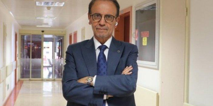 Prof. Dr. Mehmet Ceyhan son durumunu hastane odasından fotoğraf paylaşarak duyurdu. Apar topar hastaneye kaldırılmıştı