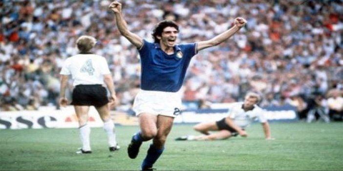 İtalya'nın efsane futbolcusu Paolo Rossi hayatını kaybetti. Hem Almanya'yı hem de Brezilya'yı yıkmıştı