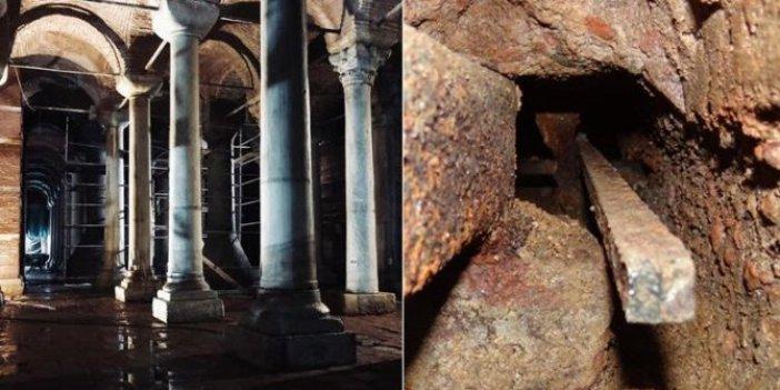 Turistlerin gözdesi tarihi Yerebatan Sarnıcı'nda ürküten tespit. En yetkili isim açıkladı: Bir saniye bile bekleyecek zamanımız yok