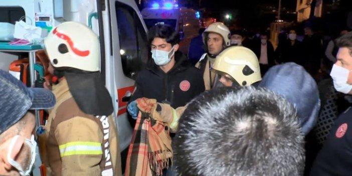 Yüzlerce kişi sokağa döküldü. Arbedede kopan parmağı itfaiyeciler buldu
