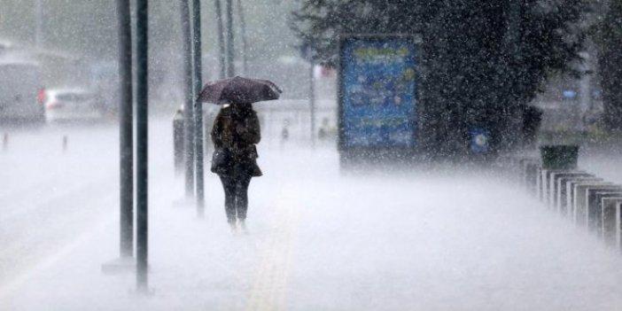 Meteoroloji turuncu alarm verdi. 43 ile uyarı. Kuvvetli sağanak yağış ve fırtına geliyor