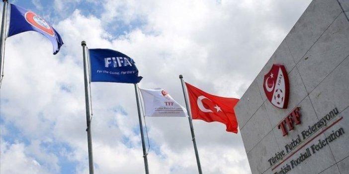 TFF'den İsrail'de yaşananlara kınama