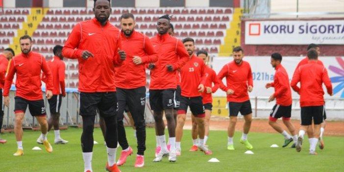 Hatayspor'da Karamgümrük maçı hazırlıkları tamamlandı