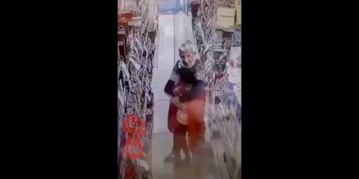 İstanbul'da markette büyük rezillik: Yakalayın bu adamı!