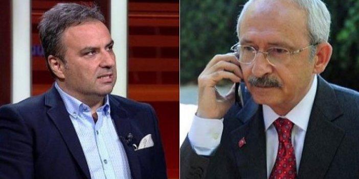 Kılıçdaroğlu'ndan Halk TV'deki programı yayından kaldırılan Gürkan Hacır'a telefon