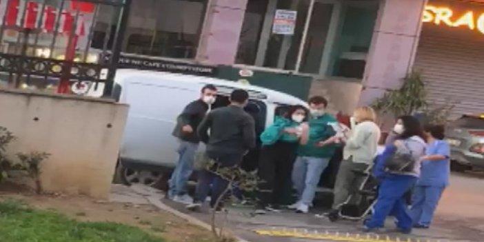 İstanbul'da hamile kadın hastane kapısında doğum yaptı