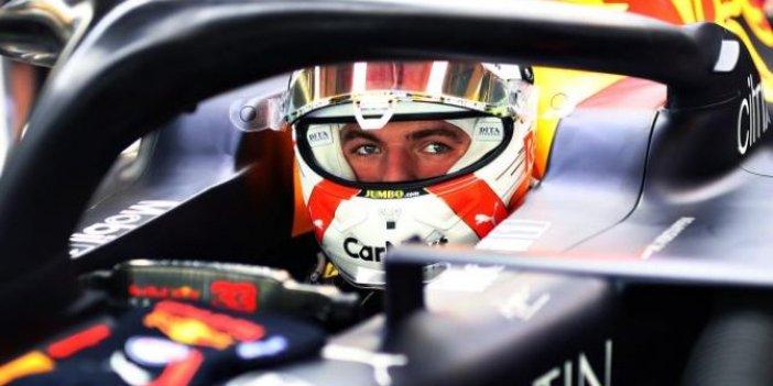 Formula 1'in Abu Dabi ayağında Max Verstappen bir ilki gerçekleştirdi