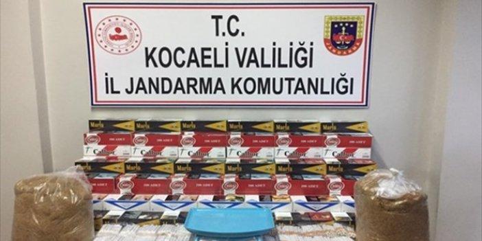 Kocaeli'de 19 bin 860 kaçak sigara ele geçirildi