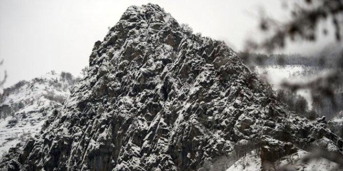 Tunceli'de kar etkili oldu