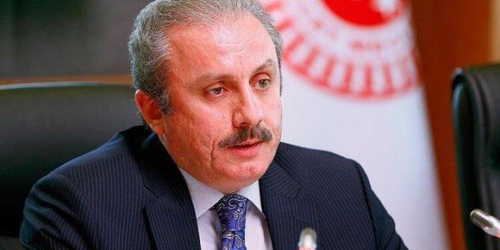 TBMM Başkanı Şentop, Cumhurbaşkanı Erdoğan'ı hedef alan açıklamaları kınadı
