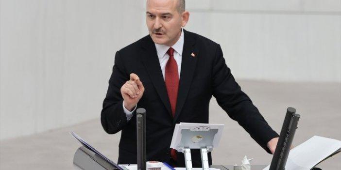 Meclis'te tansiyon yükseldi... Süleyman Soylu
