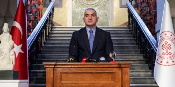 Kültür ve Turizm Bakanı Mehmet Nuri Ersoy, Kybele Heykeli'nin tanıtımında konuştu