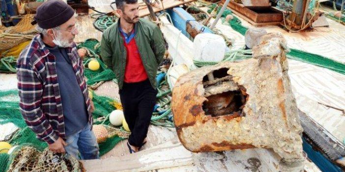 Bodrum'da balıkçı ağlarına takıldı. İlk kez görüldü. 200 kilogram ağırlığında