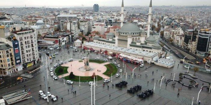 Taksim'deki siren sesleri birçok ilçeden duyulmuştu, nedeni belli oldu