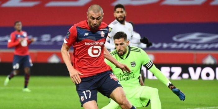 Bordeaux'u 2-1 yenen Lille, maç fazlası ile lider oldu