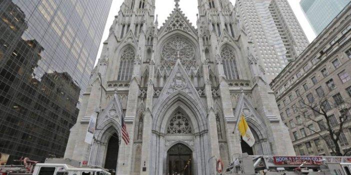 New York'ta katedralde silahlı saldırı