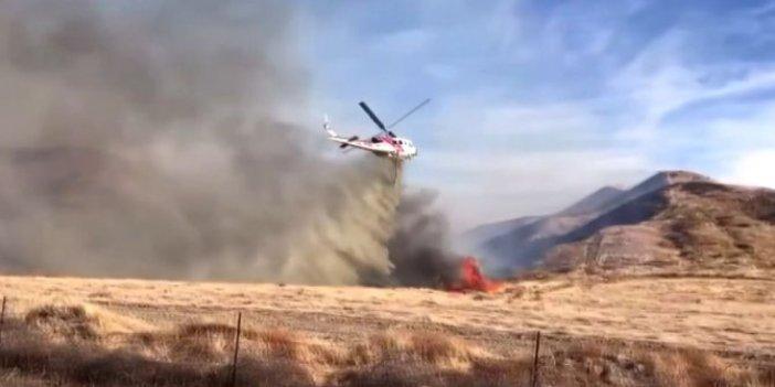 Kaliforniya'daki orman yangını 2 bin dönümlük alana yayıldı