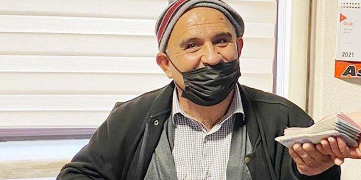Verdiği ödül şok etkisi yaptı. Çankırı'da cami tuvaletinde unuttuğu 20 bin lirasına kavuştu