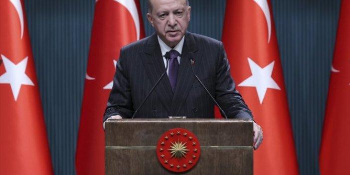 Kabine toplantısı sonrası Erdoğan açıkladı. Yıl başında 4 gün kesintisiz sokağa çıkma yasağı