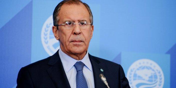 ABD'nin Türkiye'ye yaptırım kararına Rusya'dan ilk tepki Lavrov'dan