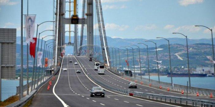 Ulaştırma Bakanı açıkladı! Osmangazi Köprüsü'nde vatandaşa 4 kat faiz