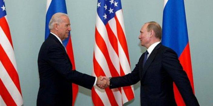 Vladimir Putin'den Joe Biden'a ilk mesaj