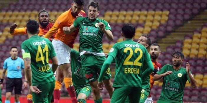 Galatasaray tur için Darıca'yla mücadele etti