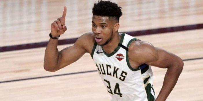 NBA'de Giannis Antetokounmpo'ya rekor kontrat