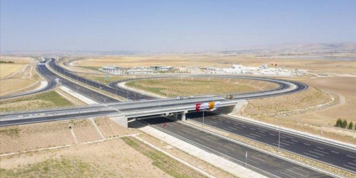 Ankara-Niğde Otoyolu'nun tamamı hizmete giriyor. Mesafe yarı yarıya düşecek