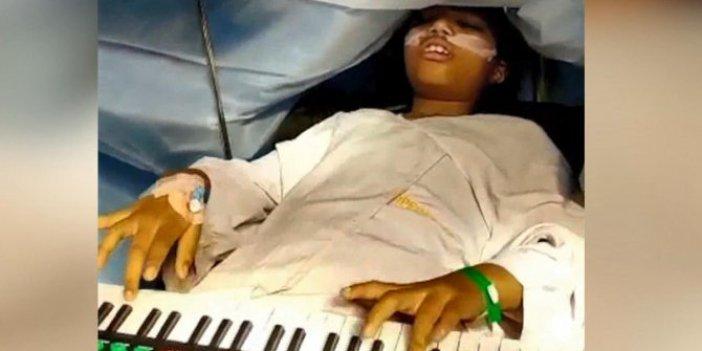 Kafatasını kestikleri çocuğa doktorlar konser verdirdi. Meğer amaçları bambaşkaymış