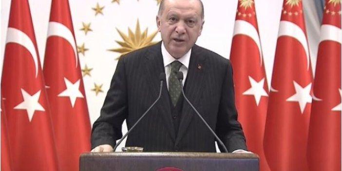 Cumhurbaşkanı Erdoğan, Niğde- Ankara Otoyolu açılışında konuştu