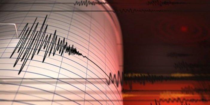 Akdeniz'de 3.3'lük deprem