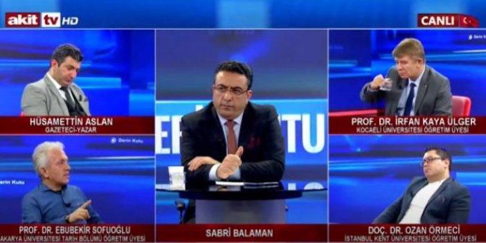 Profesör Ebubekir Sofuoğlu'ndan üniversiteler için ağza alınmayacak sözler, Google'ı Abdülhamid buldu açıklamasında bulunmuştu