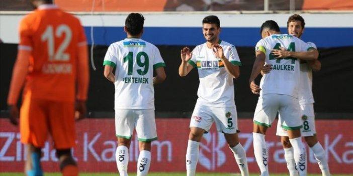 Aytemiz Alanyaspor 5 gol attı, turu kaptı
