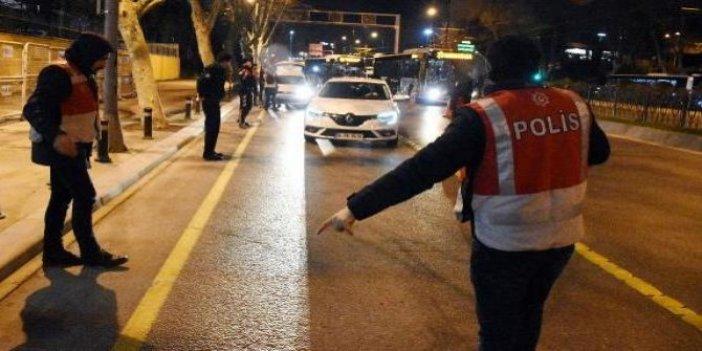 Sokak kısıtlamasına rağmen aranan 348 kişi yakalandı