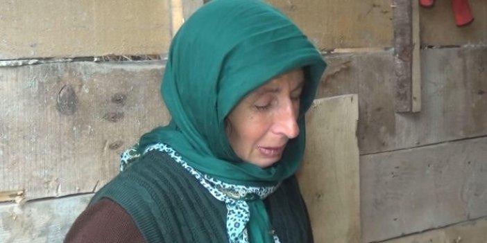 Trabzon'da ineklerin her möööleyişinde kadının gözyaşları sel olup akıyor