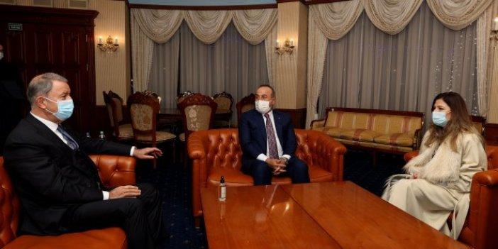 MilliSavunma ve Dışişleri Bakanları Ukrayna'da