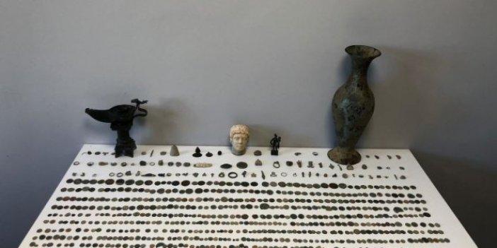 Roma Döneminden kalma tarihi eserler ele geçirildi