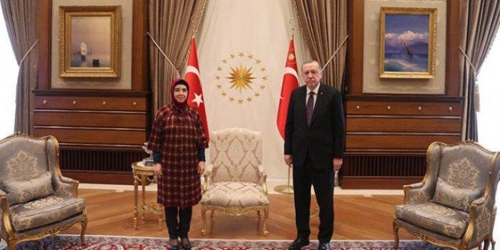 Cumhurbaşkanı Erdoğan, Keban Belediye Başkanı Atlı ile görüştü