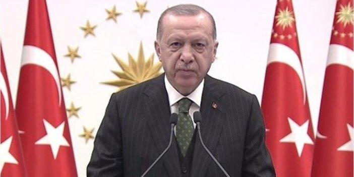 Erdoğan Kağıthane Meydanı'nın açılışında konuştu
