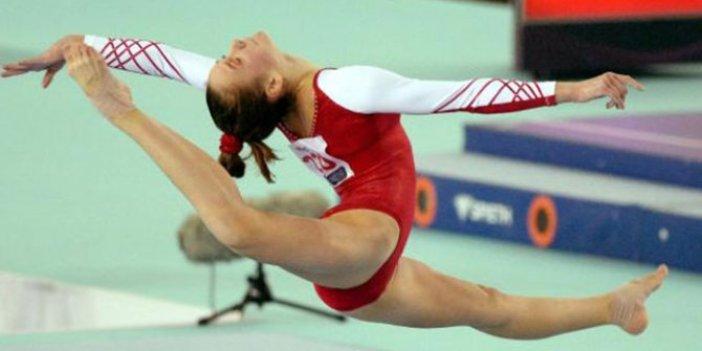 Genç cimnastikçiler Avrupa 4'üncüsü