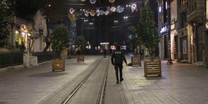 Hafta sonu tüm Türkiye'de uygulanacak sokağa çıkma yasağı başladı