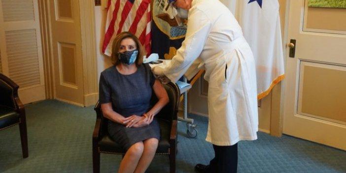 Nancy Pelosi de korona virüs aşısı oldu