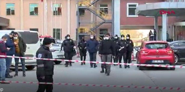 Gaziantep'te oksijen tüpü bomba gibi infilak etti 9 hasta canından oldu. Yoğun bakım servisi  savaş alanına döndü