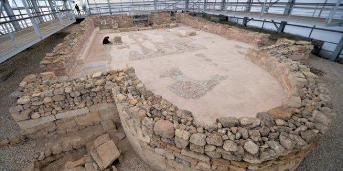Hadrianaupolis Antik Kenti'nde ortaya çıkarıldı. Tam 1800 yıllık. Çalışmalara hız verildi