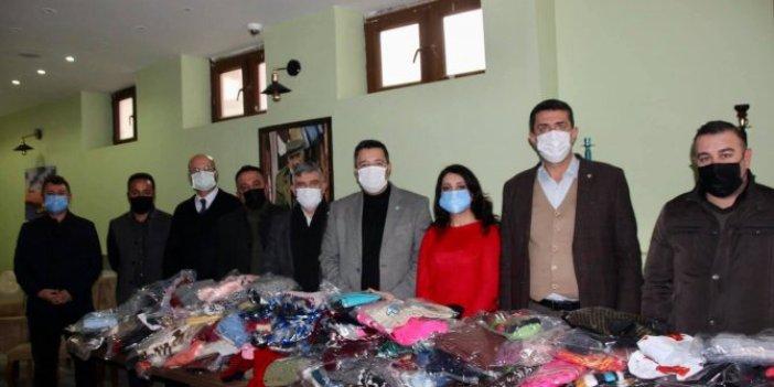 İYİ Parti Tekirdağ İl Teşkilatı'ndan çocuklara yardım eli