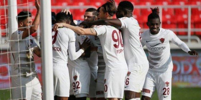 Hatayspor, Göztepe'yi tek golle geçti