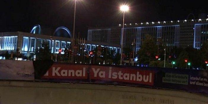 İBB'nin Kanal İstanbul pankartlarıyla ilgili inceleme sona erdi